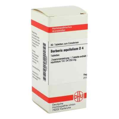 Berberis Aquifolium D 4 Tabletten  bei versandapo.de bestellen