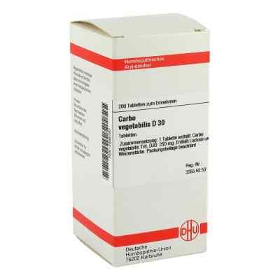 Carbo Vegetabilis D 30 Tabletten  bei versandapo.de bestellen