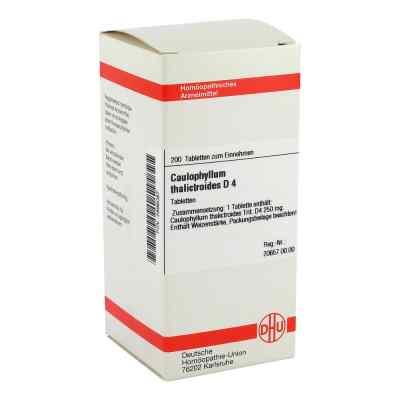 Caulophyllum Thalictroides D 4 Tabletten  bei versandapo.de bestellen