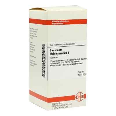 Causticum Hahnemanni D 3 Tabletten  bei versandapo.de bestellen