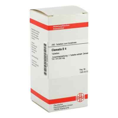 Clematis D 4 Tabletten  bei versandapo.de bestellen