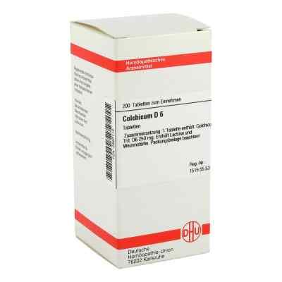 Colchicum D 6 Tabletten  bei versandapo.de bestellen