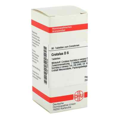 Crotalus D 6 Tabletten  bei versandapo.de bestellen