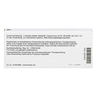 Cornea Gl D 8 Ampullen  bei versandapo.de bestellen