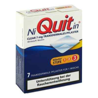 NiQuitin Clear 7mg/24 Stunden  bei versandapo.de bestellen