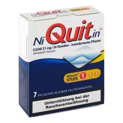 NiQuitin Clear 21mg/24 Stunden  bei versandapo.de bestellen