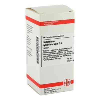 Histaminum Hydrochloricum D 4 Tabletten  bei versandapo.de bestellen