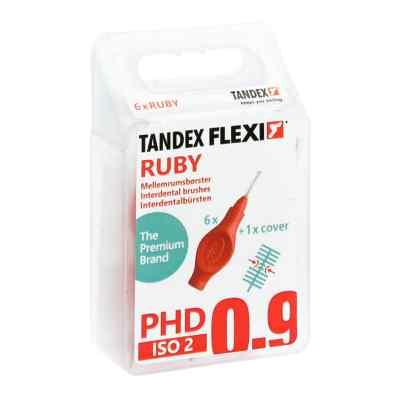 Tandex Flexi Interdental Bürsten rot 0,5mm  bei versandapo.de bestellen