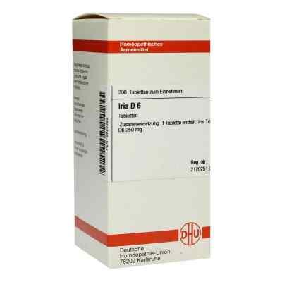 Iris D 6 Tabletten  bei versandapo.de bestellen