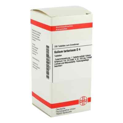 Kalium Tartaricum D 4 Tabletten  bei versandapo.de bestellen
