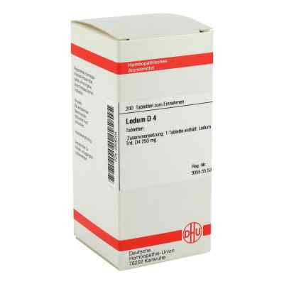 Ledum D 4 Tabletten  bei versandapo.de bestellen