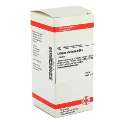 Lithium Chloratum D 6 Tabletten  bei versandapo.de bestellen