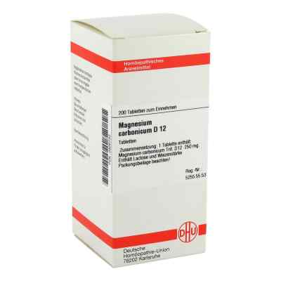 Magnesium Carbonicum D 12 Tabletten  bei versandapo.de bestellen