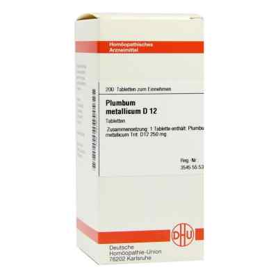 Plumbum Met. D 12 Tabletten  bei versandapo.de bestellen