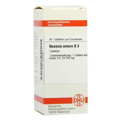Quassia D 3 Tabletten  bei versandapo.de bestellen