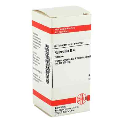 Rauwolfia D 4 Tabletten  bei versandapo.de bestellen