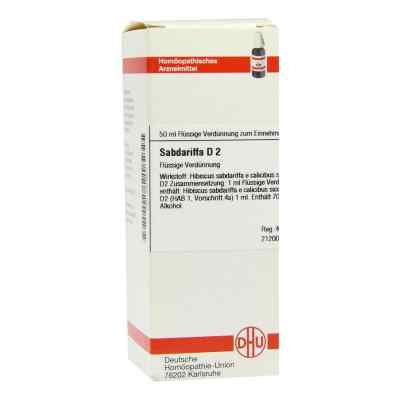 Sabdariffa D 2 Dilution  bei versandapo.de bestellen