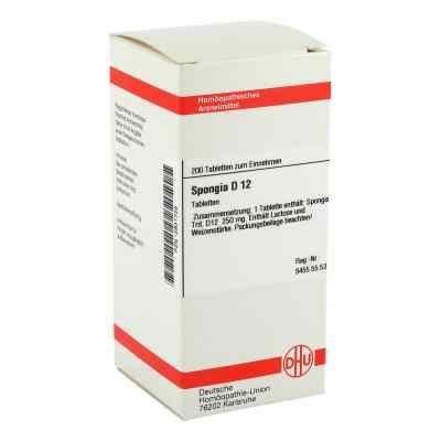 Spongia D 12 Tabletten  bei versandapo.de bestellen