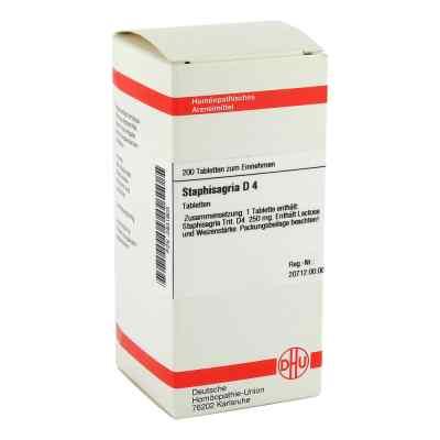 Staphisagria D 4 Tabletten  bei versandapo.de bestellen