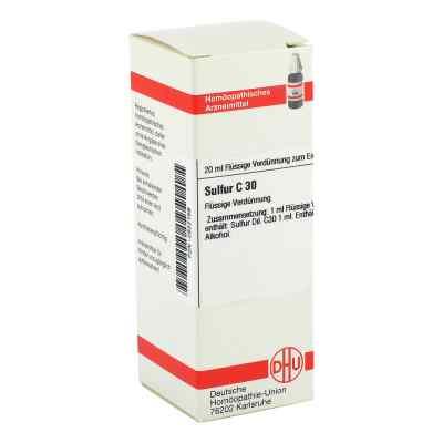 Sulfur C 30 Dilution  bei versandapo.de bestellen