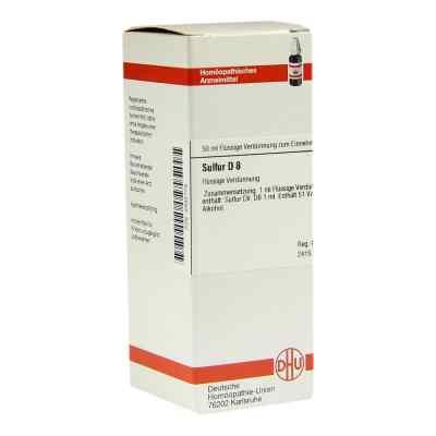 Sulfur D 8 Dilution  bei versandapo.de bestellen