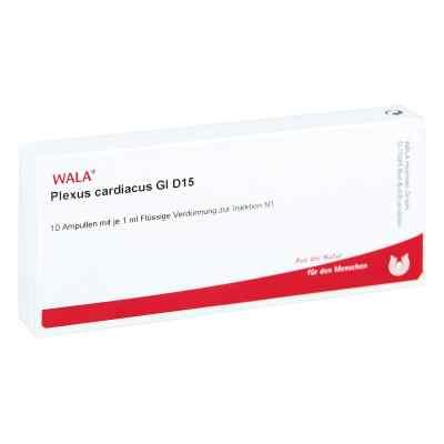 Plexus Cardiacus Gl D 15 Ampullen  bei versandapo.de bestellen