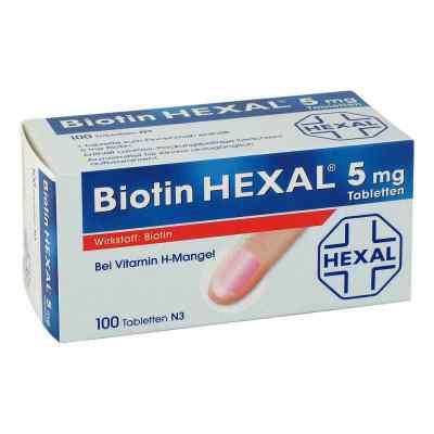 Biotin Hexal 5 mg Tabletten  bei versandapo.de bestellen
