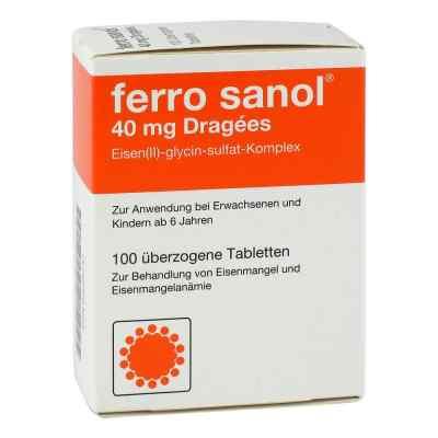 Ferro sanol 40mg Dragees  bei versandapo.de bestellen