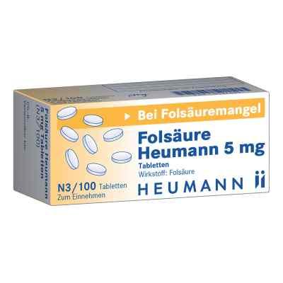 Folsäure Heumann 5 mg Tabletten  bei versandapo.de bestellen