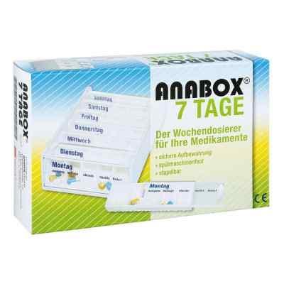 Anabox 7 Tage Wochendosierer weiss  bei versandapo.de bestellen
