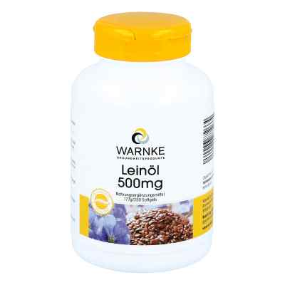 Leinöl 500 mg Kapseln  bei versandapo.de bestellen