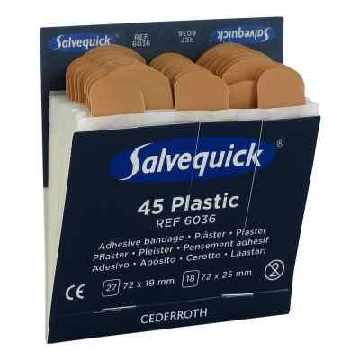 Salvequick Pflasterstrips wasserfest Refill 6036  bei versandapo.de bestellen