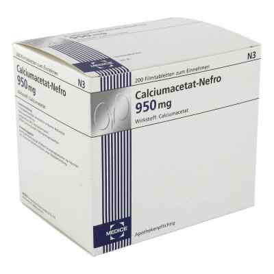 Calciumacetat Nefro 950 mg Filmtabletten  bei versandapo.de bestellen