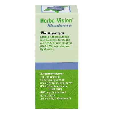 Herba-vision Blaubeere Augentropfen  bei versandapo.de bestellen