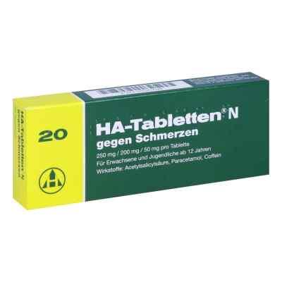 HA-Tabletten N gegen Schmerzen  bei versandapo.de bestellen