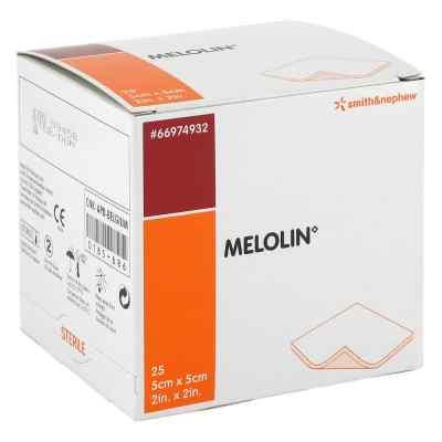 Melolin 5x5cm Wundauflagen steril  bei versandapo.de bestellen