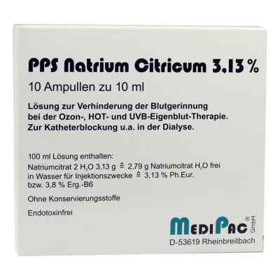 Natriumcitrat 3,13% Ampullen  bei versandapo.de bestellen