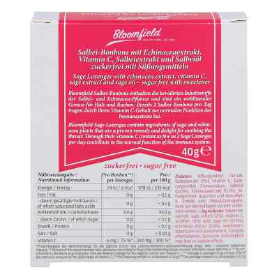 Bloomfield Salbei Bonbons mit Echinacea zuckerfrei  bei versandapo.de bestellen