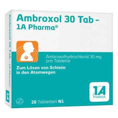 Ambroxol 30 Tab-1A Pharma  bei versandapo.de bestellen