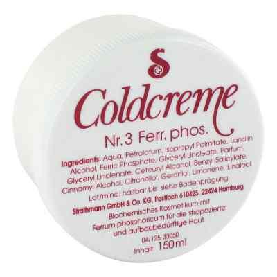 Coldcreme Nummer 3  Ferrum phosph.  bei versandapo.de bestellen