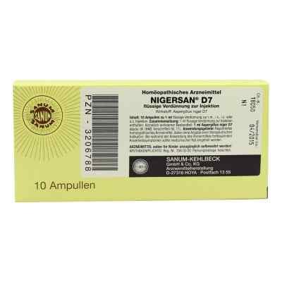 Nigersan D 7 Ampullen  bei versandapo.de bestellen