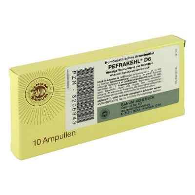 Pefrakehl Ampullen D 6  bei versandapo.de bestellen