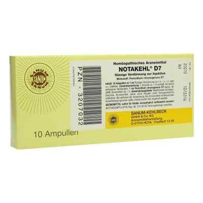 Notakehl D 7 Ampullen  bei versandapo.de bestellen