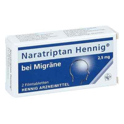 Naratriptan Hennig bei Migräne 2,5mg  bei versandapo.de bestellen