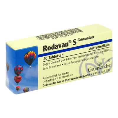 Rodavan S Grünwalder  bei versandapo.de bestellen