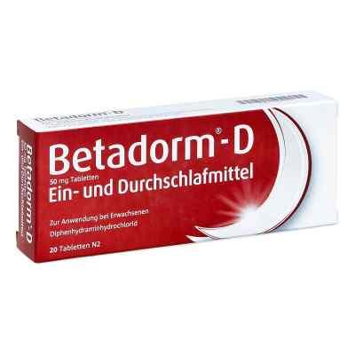Betadorm-D  bei versandapo.de bestellen