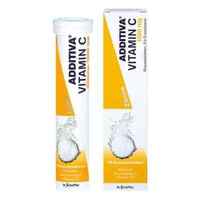 Additiva Vitamin C1 g Brausetabletten  bei versandapo.de bestellen
