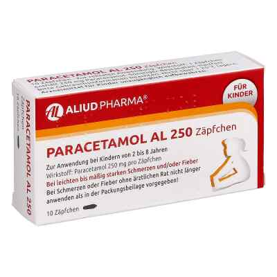 Paracetamol AL 250  bei versandapo.de bestellen