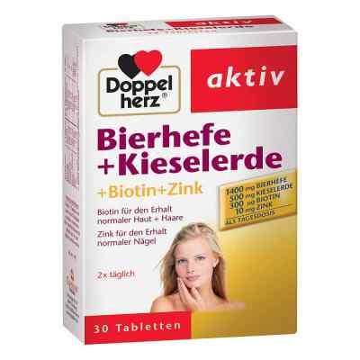 Doppelherz Bierhefe + Kieselerde Tabletten  bei versandapo.de bestellen