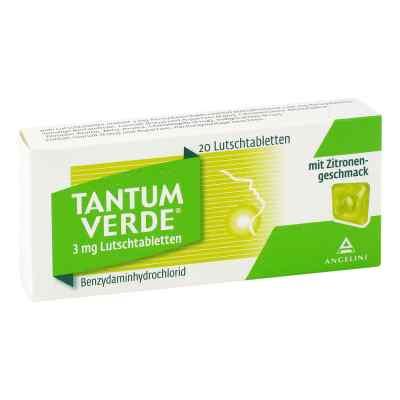 Tantum Verde 3 mg mit Zitronengeschmack Lutschtab.  bei versandapo.de bestellen